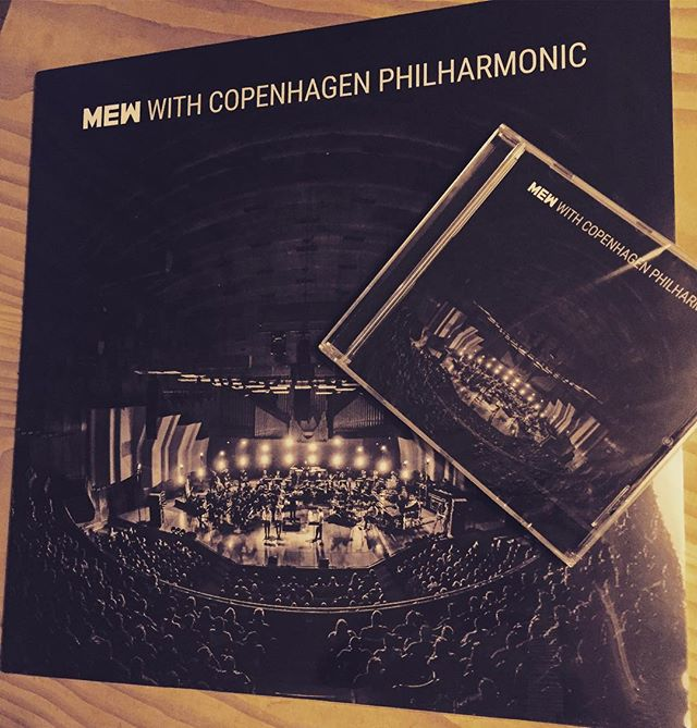 "Our new album ""Mew with Copenhagen Philharmonic"" is out NOW on all platforms. Hope you're enjoying it! There's also a video of us performing Comforting Sounds on the night. Get that symphonic Christmas vibe on Frengers!🎅🏼🌲"