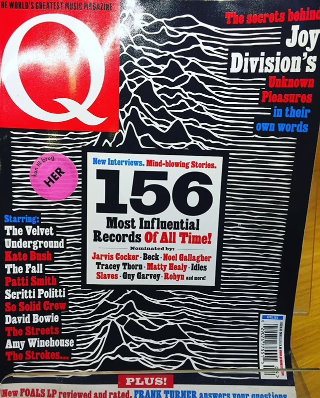 "Hmmm..🤔 I wonder where Q Magazine got the idea for the ""156 most influential""??☝🏻😅"