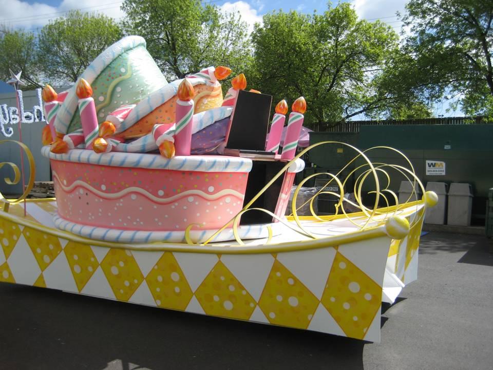Sesame Place Float