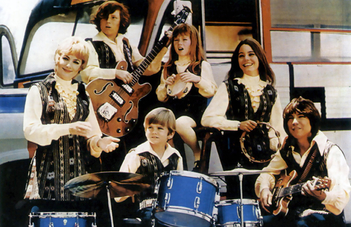 The Partridge Family with David on guitar
