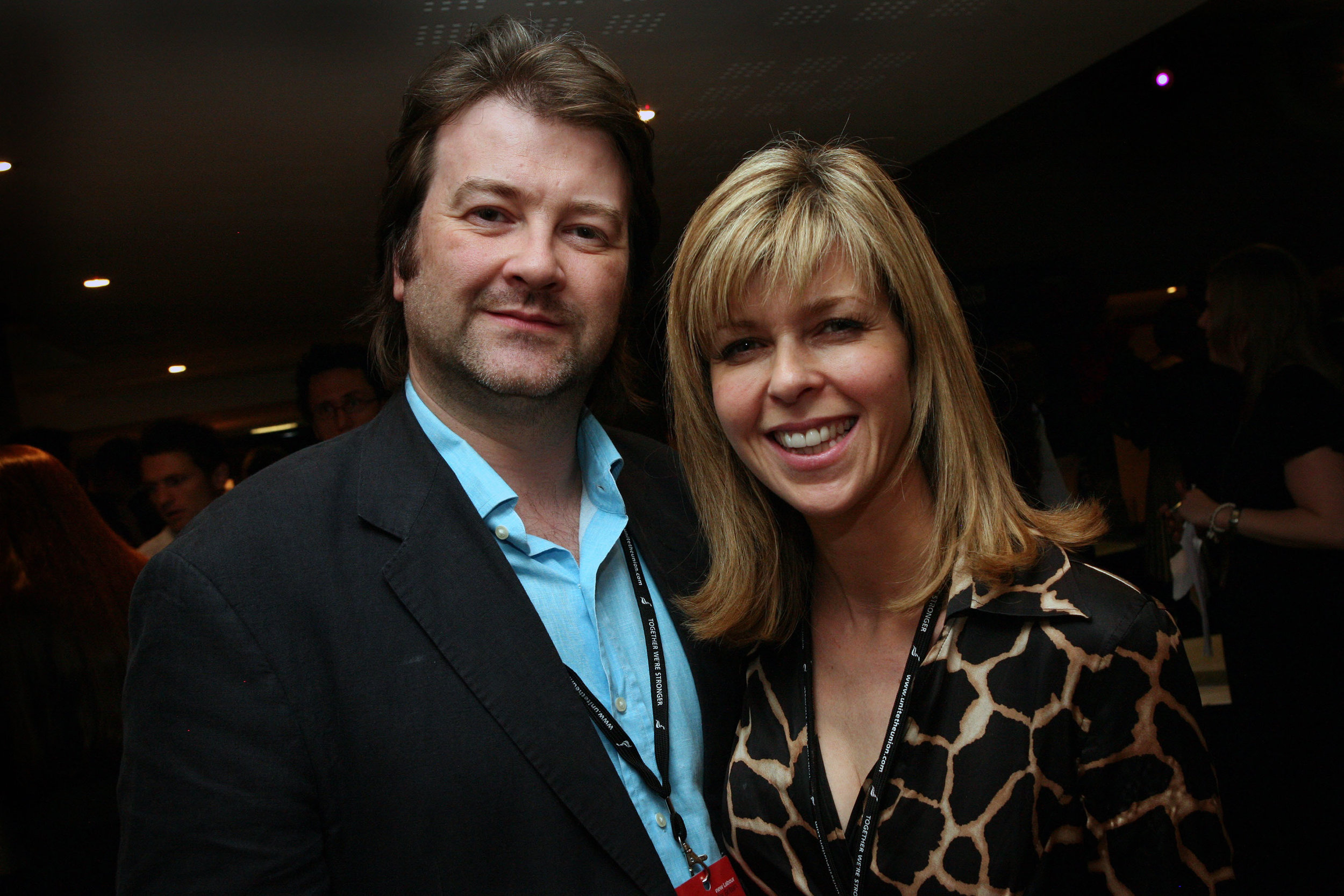 Kate with husband Derek Draper who she married in 2005