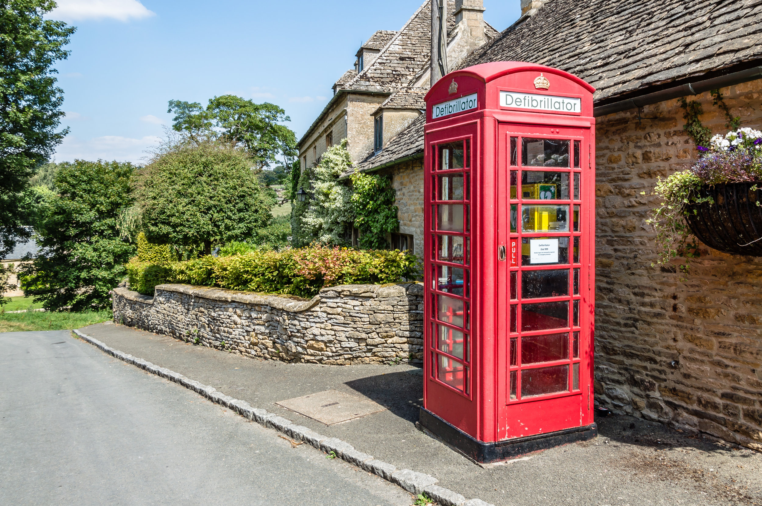 Some phone boxes have found a new life providing life-saving AEDs