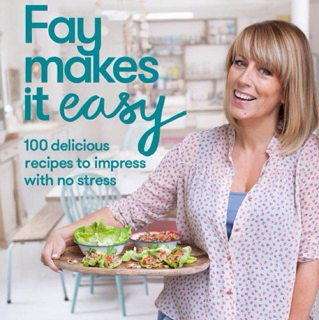 Fay's new career - as a recipe guru!