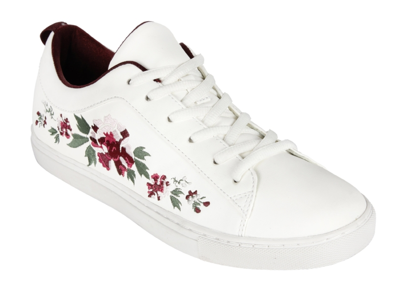 10.  Embroidered trainers, £38, Next
