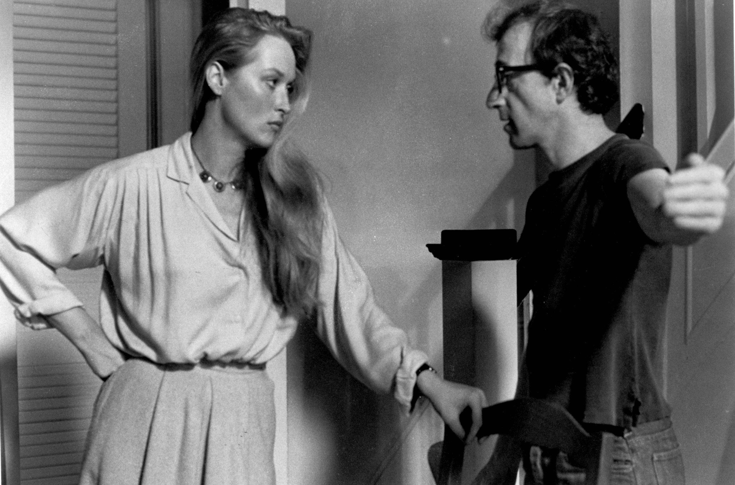Meryl and Woody Allen in the 1979 film Manhattan