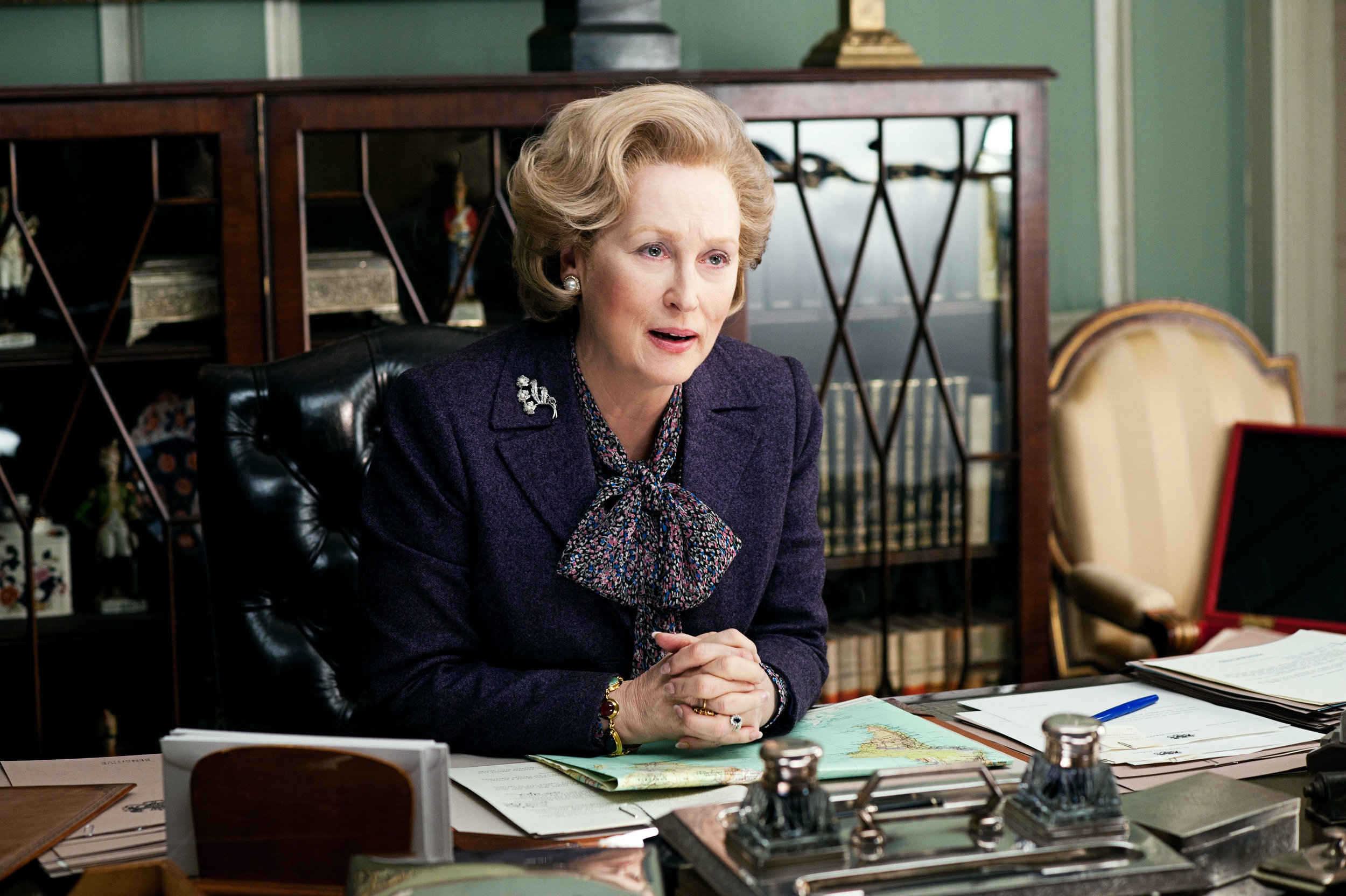 As the Iron Lady in 2011
