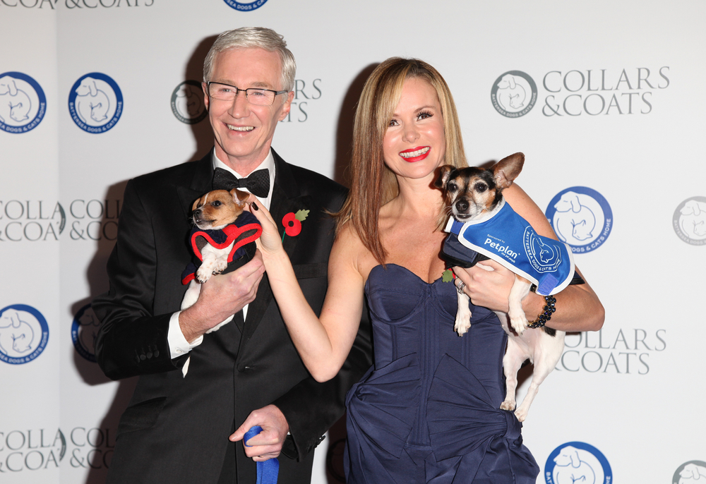 Paul and Amanda Holden at the Collars and Coats Ball