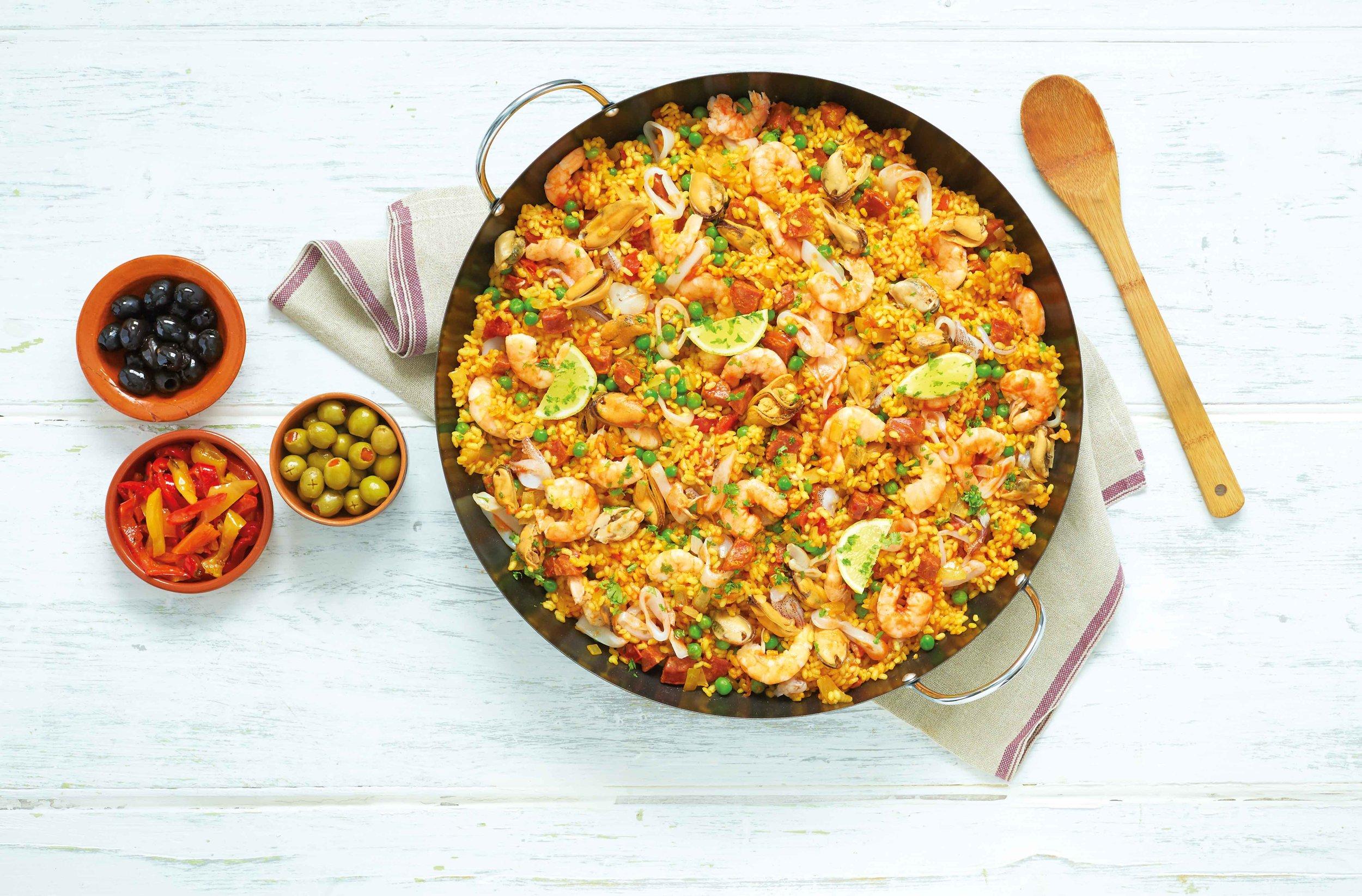 seafood-paella