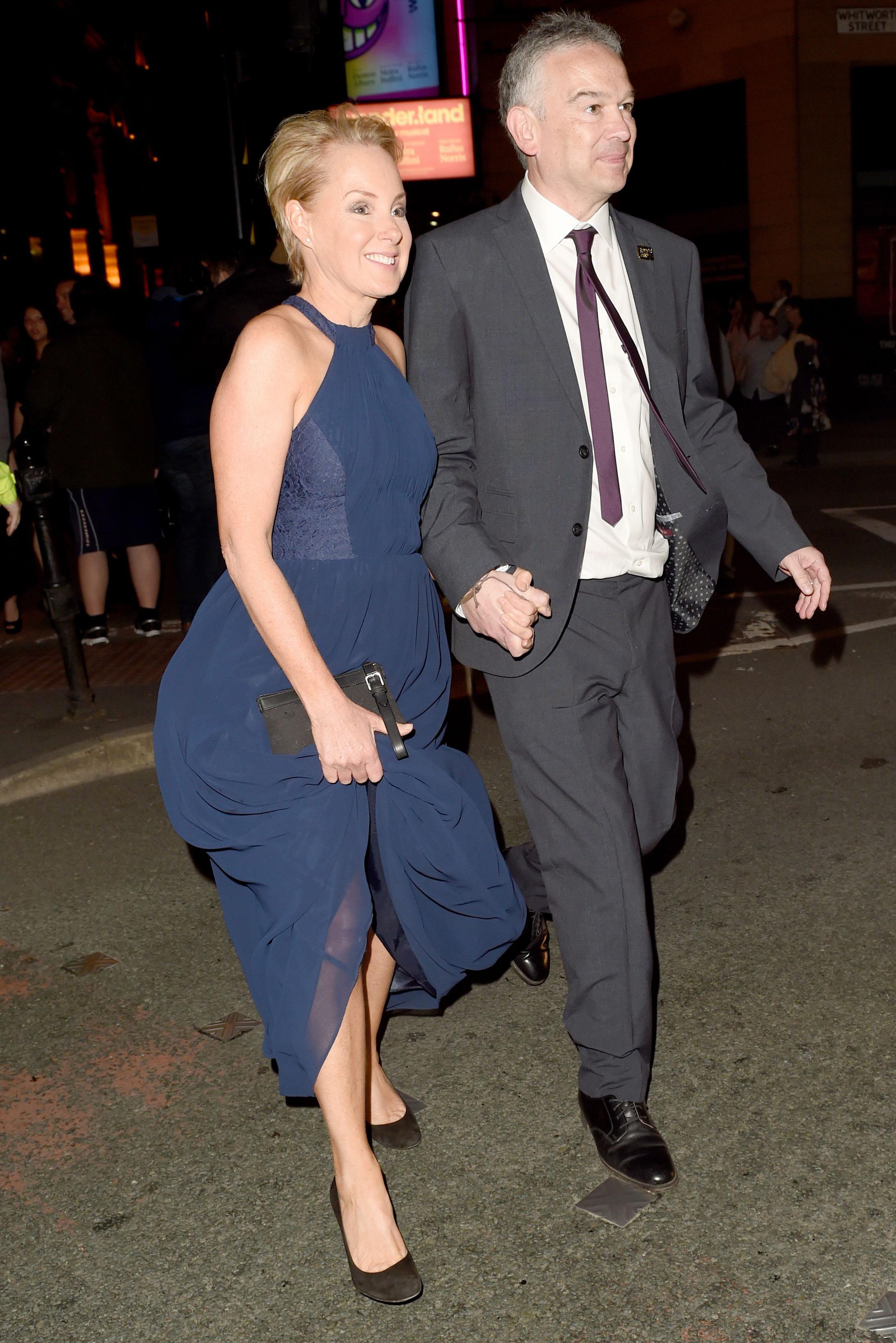 Sally with husband Tim