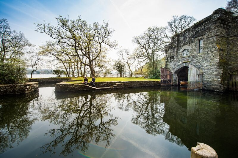 Cumbria's Wray Castle can be enjoyed for free