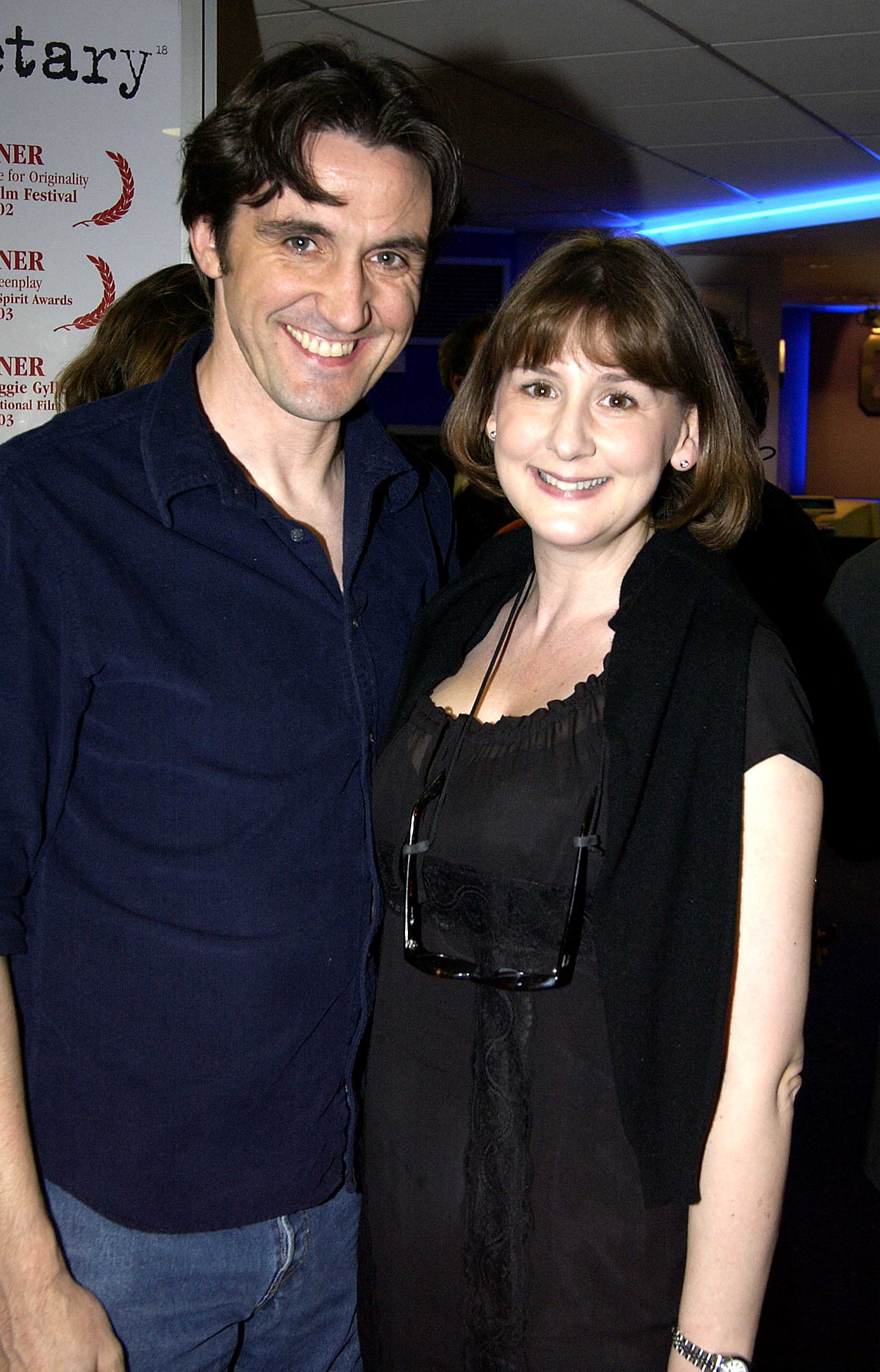 Stephen McGann with his wife and creator of Call the Midwife, Heidi Thomas