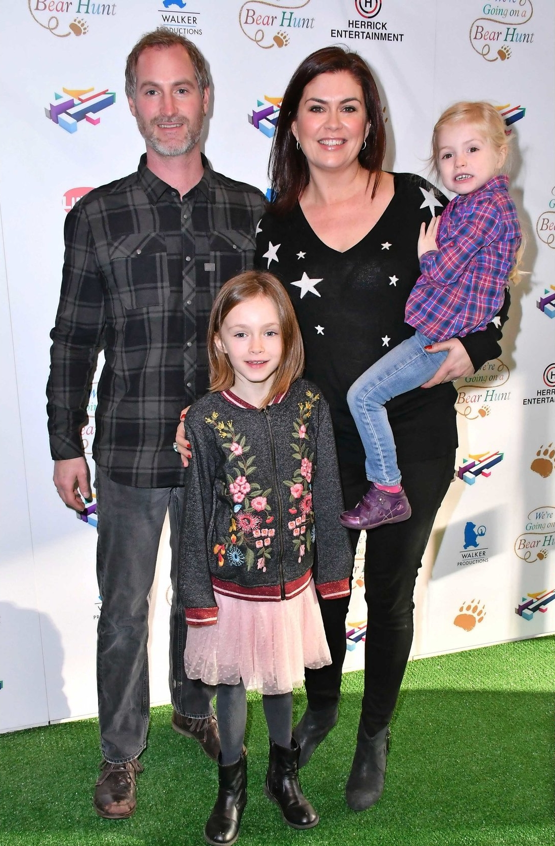 Amanda with husband, Sean and two daughters, Willow and Lottie