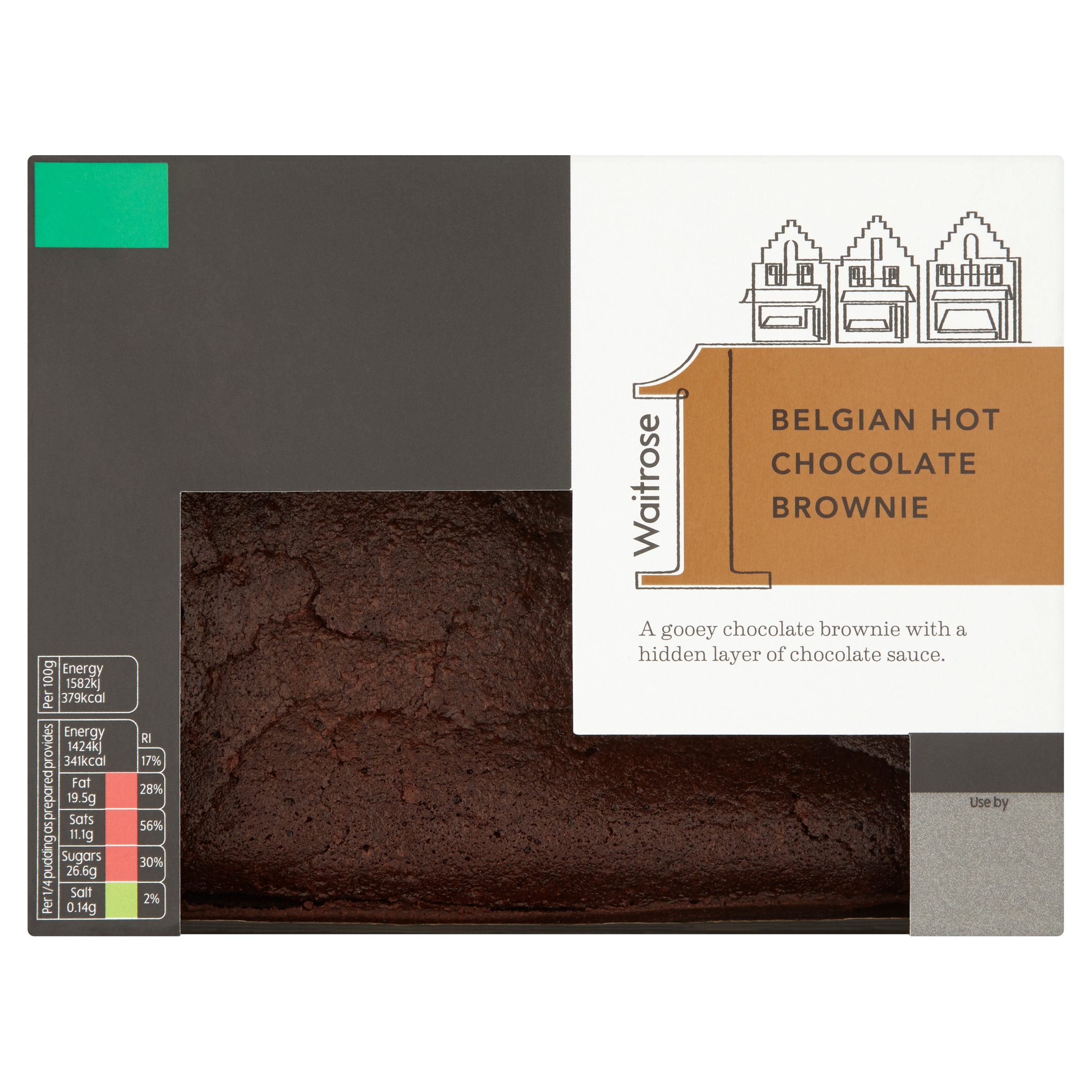 Waitrose 1 Belgian Hot Chocolate Brownie.jpg