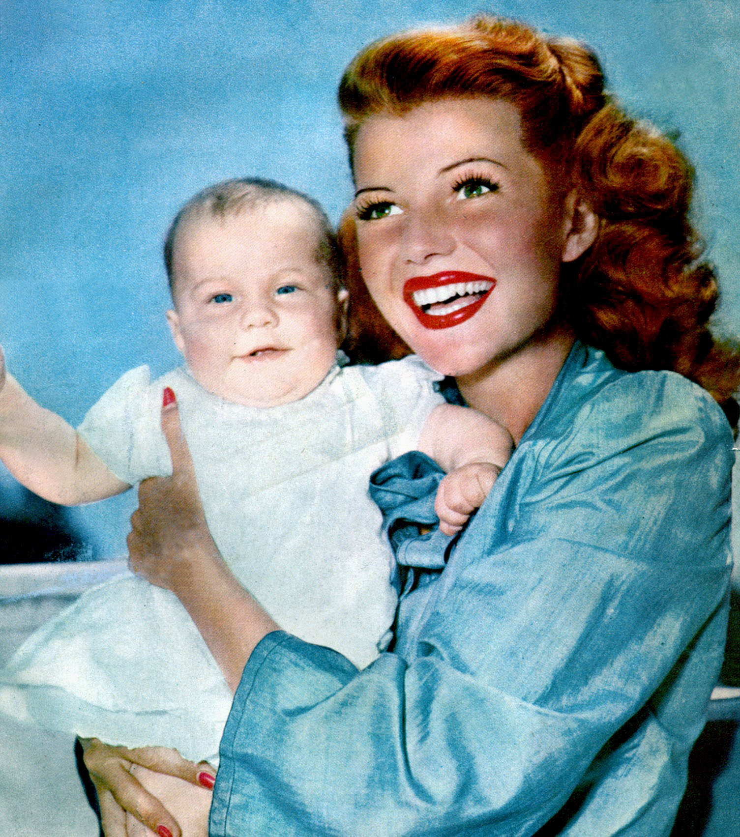 Rita with baby Rebecca