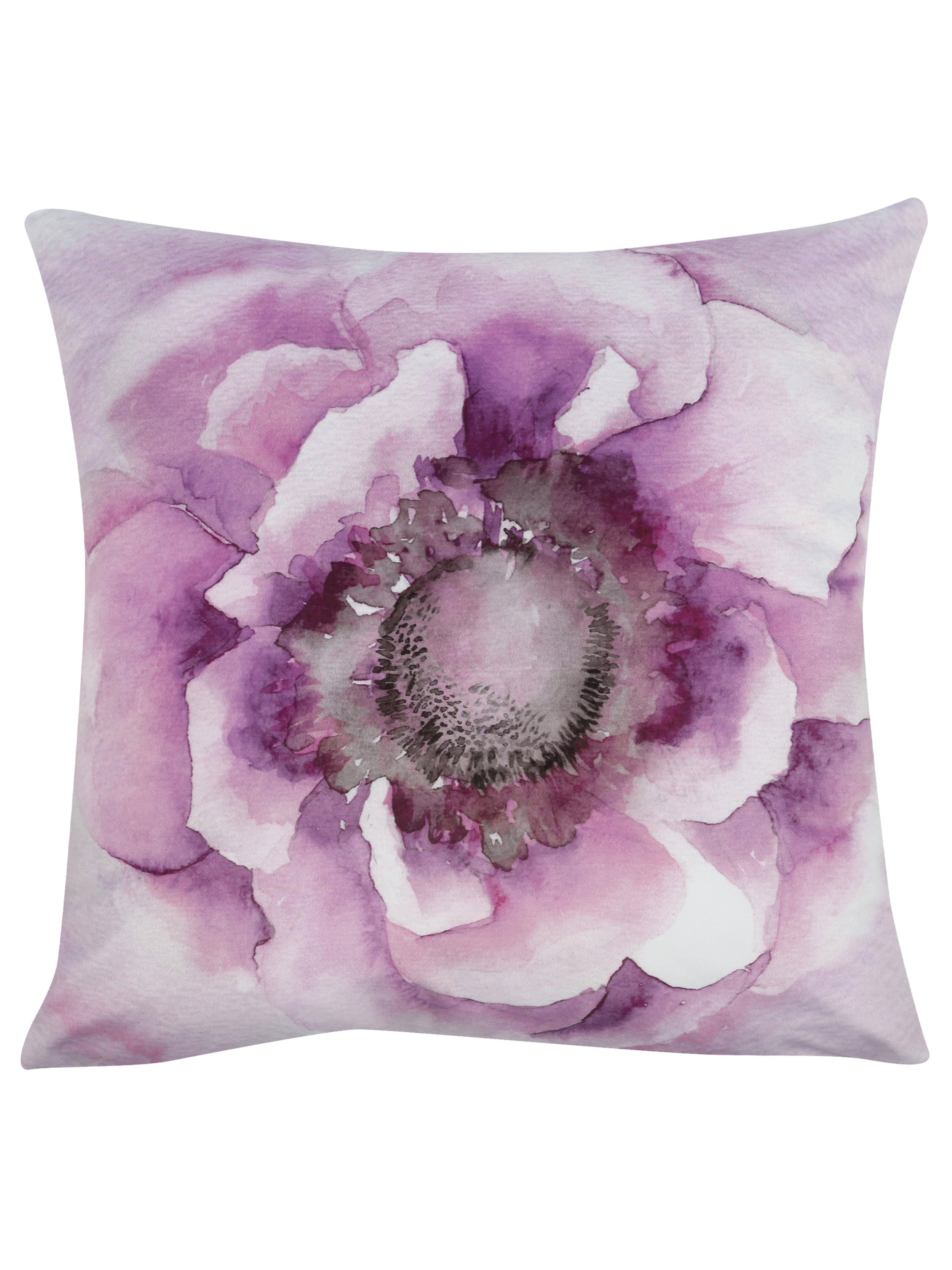 Lilac flower cushion, £19