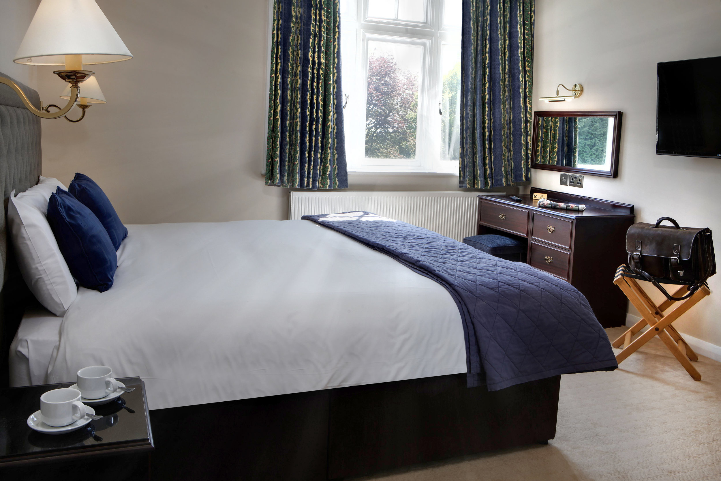 Double room in a classic style