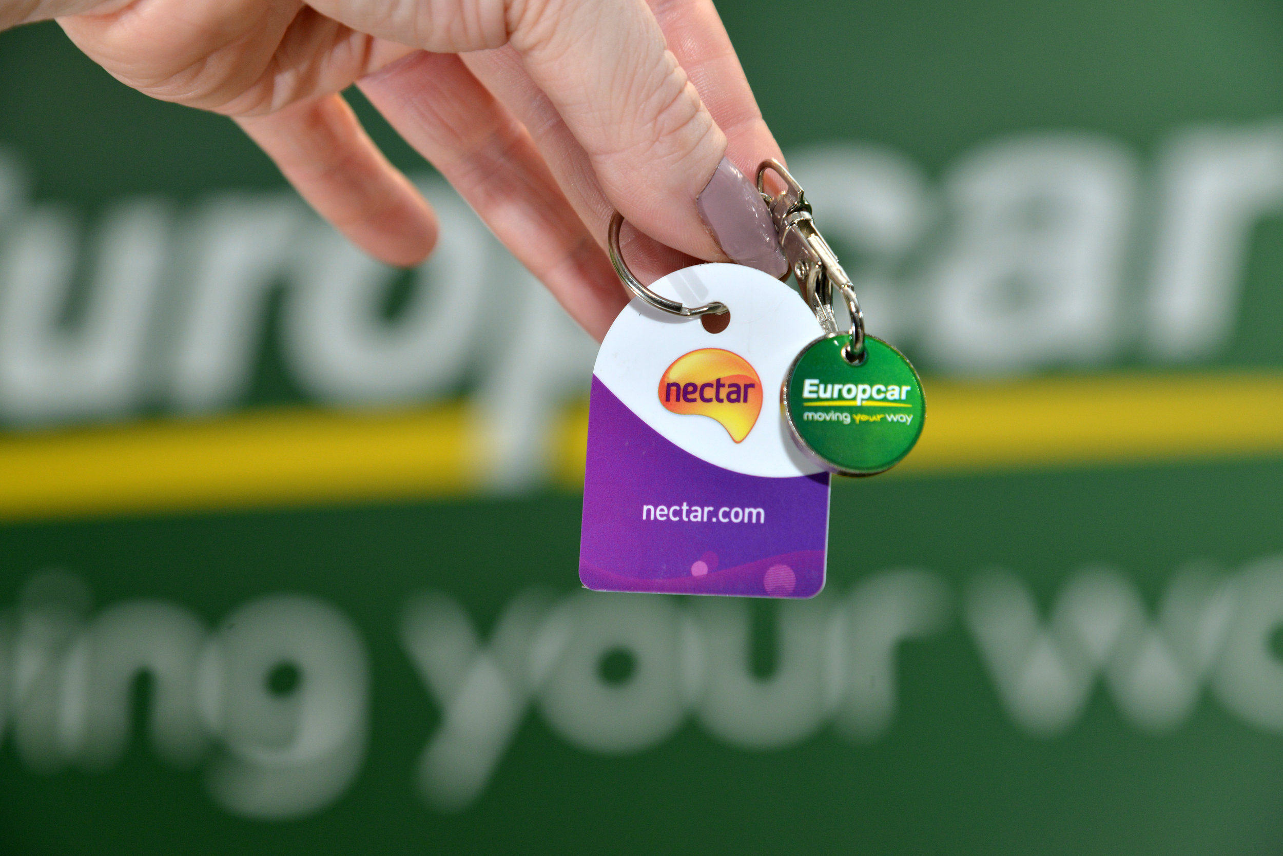 Drive up Nectar points with Europcar bookings