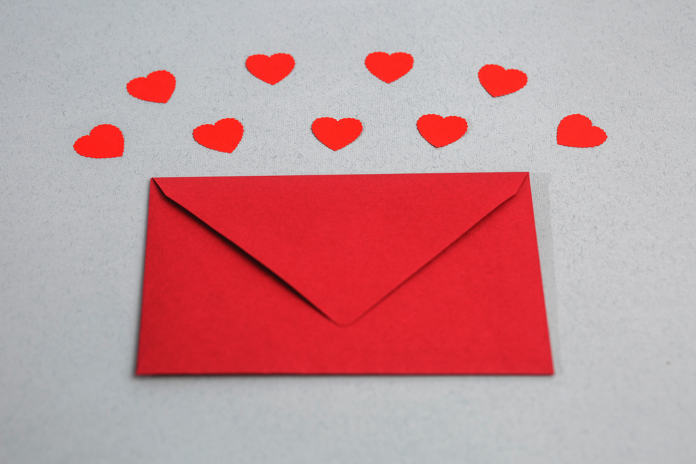 Technology has replaced love letters
