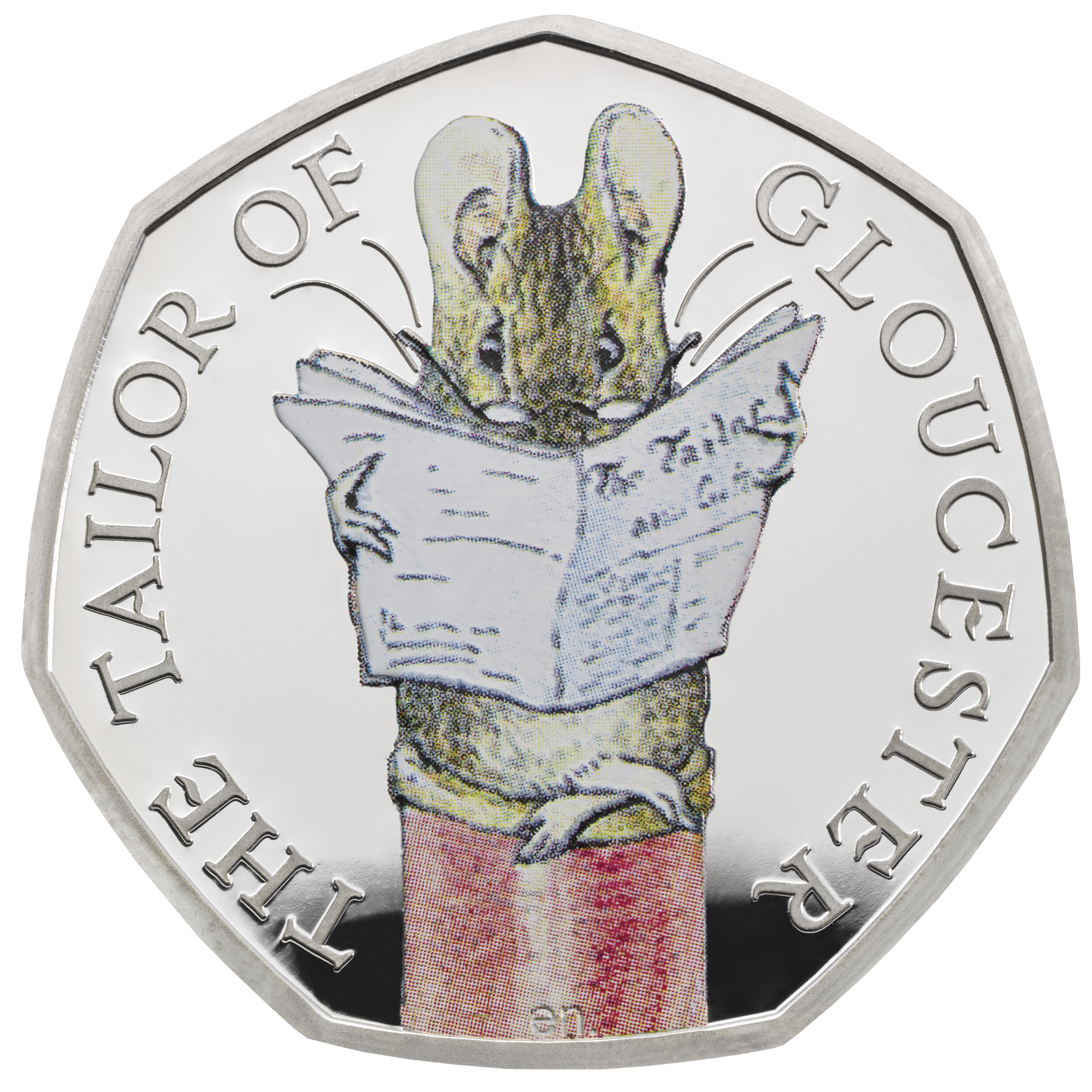 The Tailor of Gloucester 2018 UK 50p Silver Proof Coin rev tone - ukp72894.png