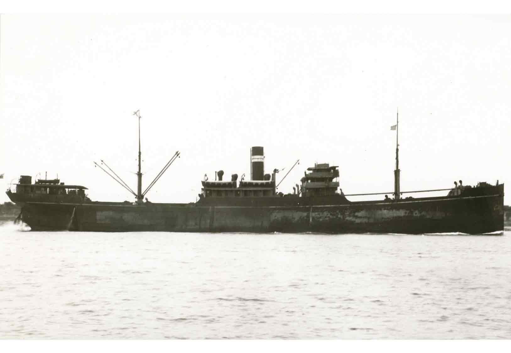 The SS Gairsoppa Image: Bibliothek für Zeitgeschichte Stuttgart