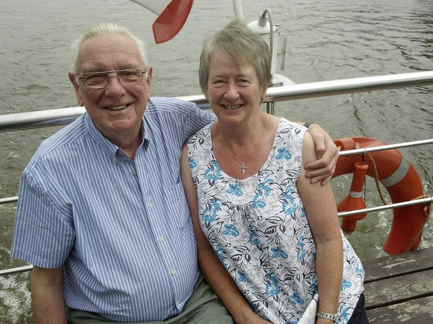 Ted and his wife Daisy