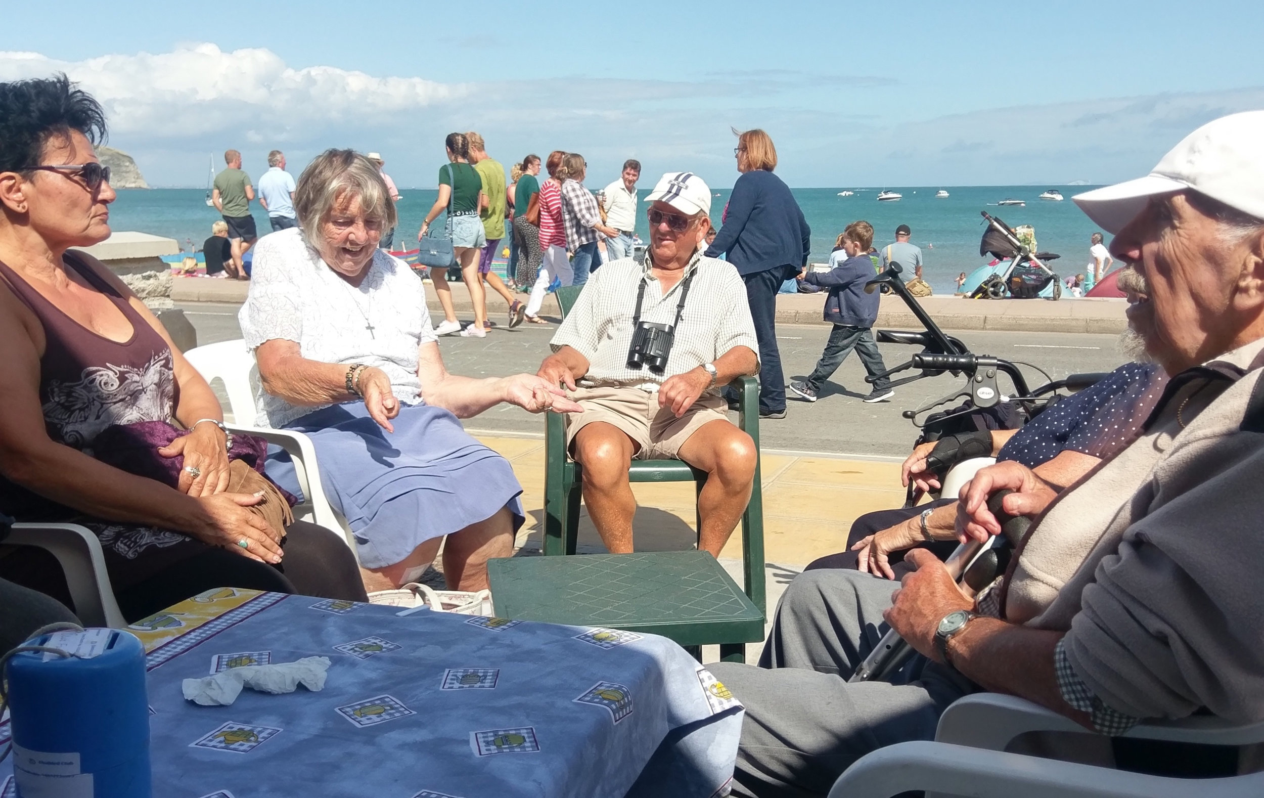 Last year's winners -Swanage Disabled Club