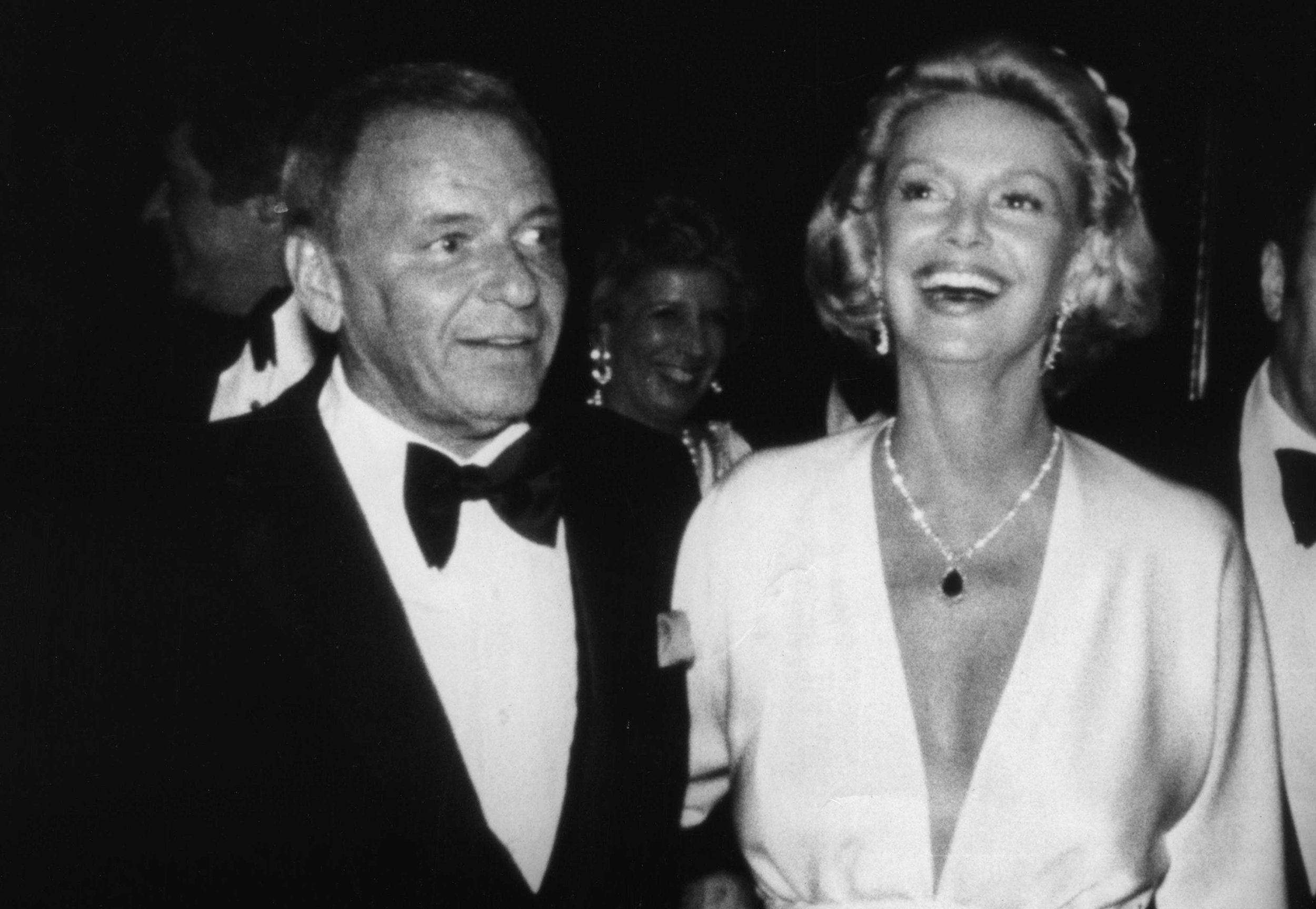 Frank and Barbara Sinatra in 1977