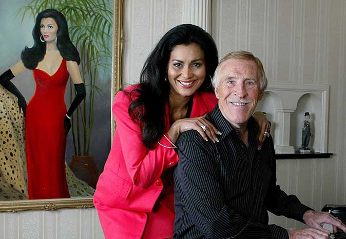 Wilnelia with her late husband, Bruce.