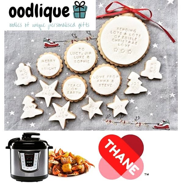 Open Door 4 on the Yours online advent calendar for a chance to #WIN a personalised Christmas Biscuit Gift Set from @oodlique, plus a Thane FlavourMaster from Thane UK. See the link in our bio!