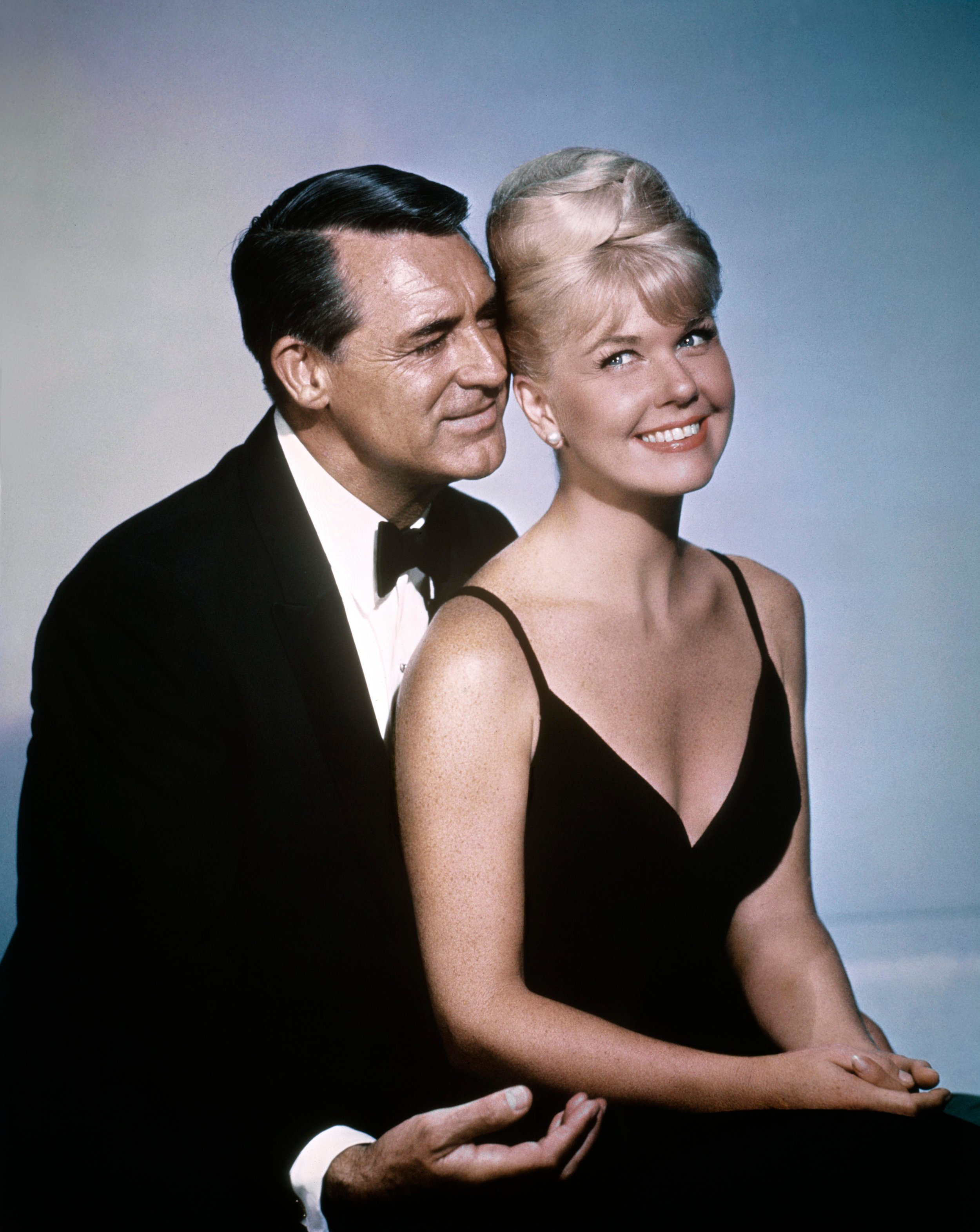 With Cary Grant for the film That Touch of Mink