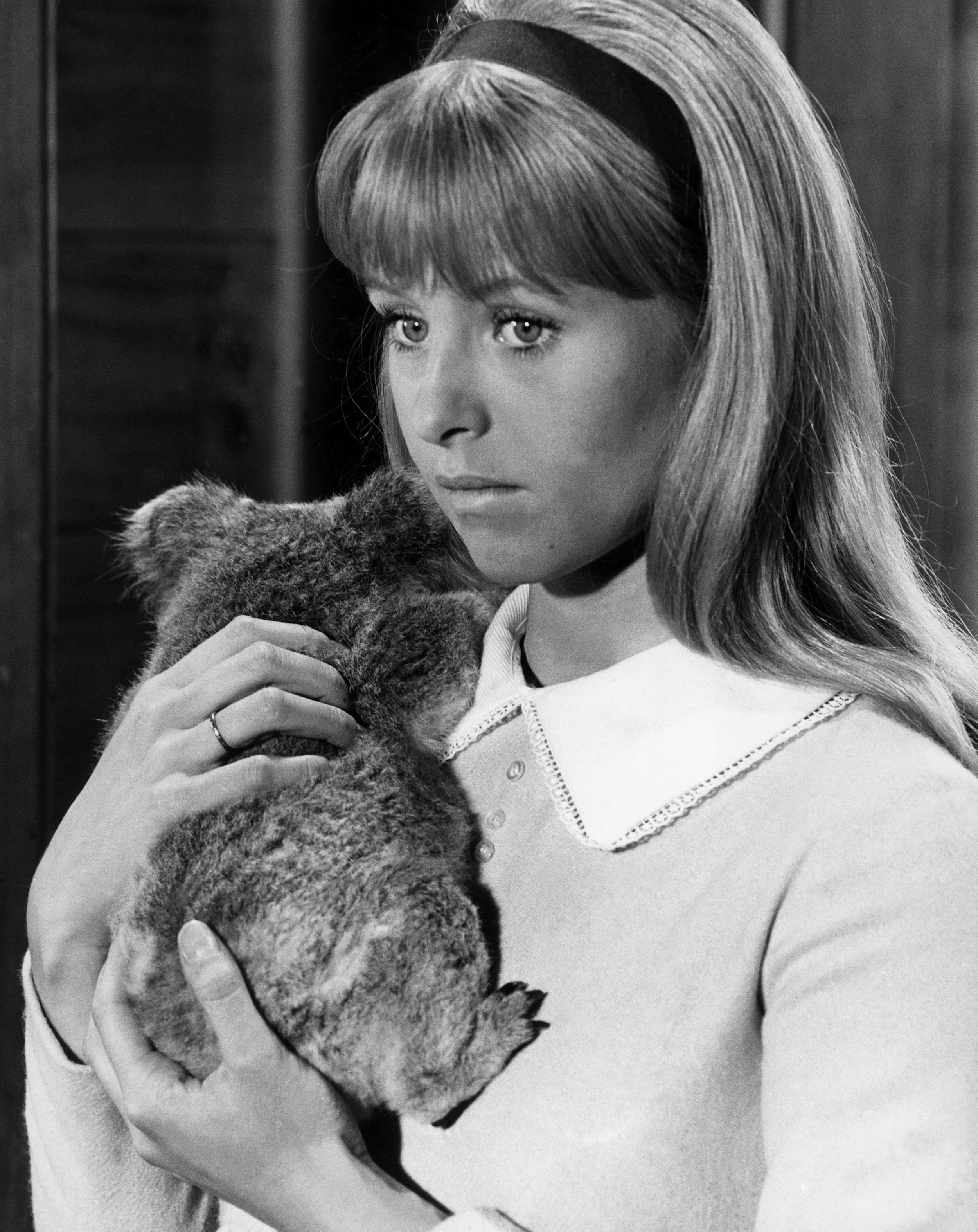 Liza Goddard as Clancy Merrick, who often found herself chasing escaping Roos