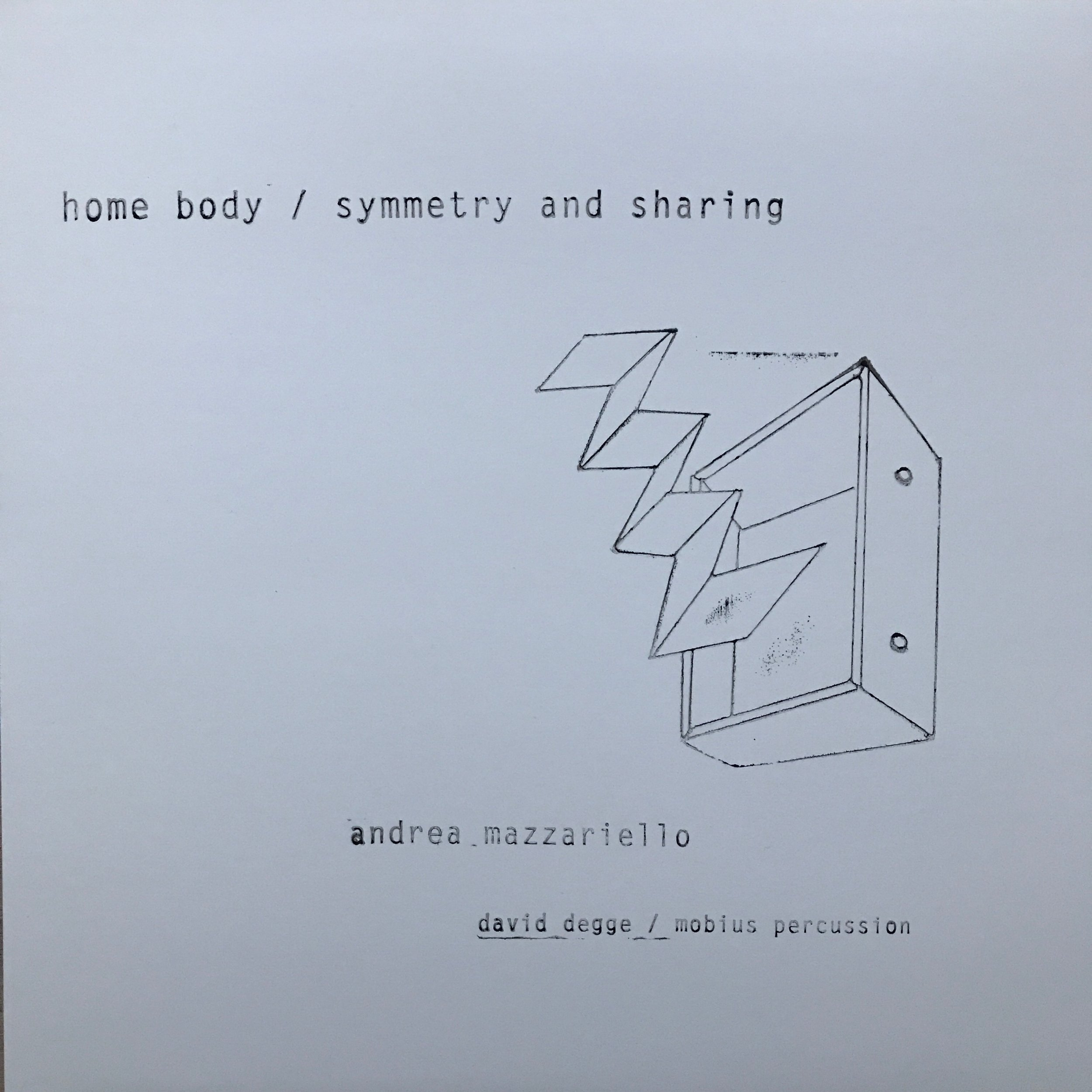 home body / symmetry and sharing (july 2017) first cover, morning light. buy it  here .