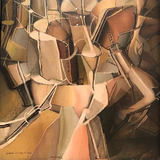 "I could stare at this picture all day.  Melting mechanical, anatomical and geological forms poised perfectly between abstraction and representation, rendered in exquisite sepia tones. Apparently it's all about sex! ""The passage of virgin to bride"". #marcelduchamp #mesmerised #notcubism #orisit #moma"