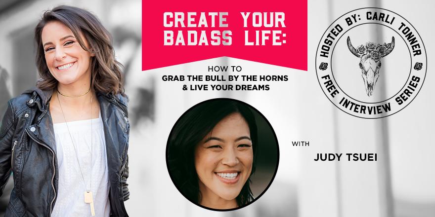 Carli Tonner Create Your Badass Life