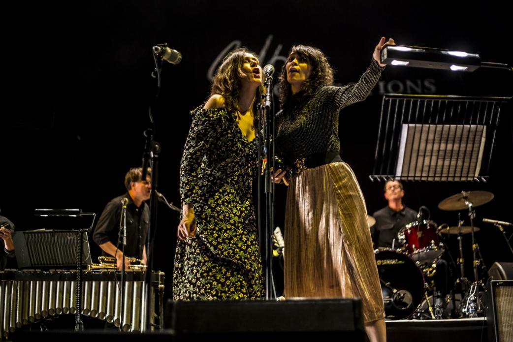 KK and Gaby Moreno in Glasgow. Photo Credit; David Mc Andrew.