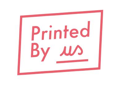 Printed By us logo