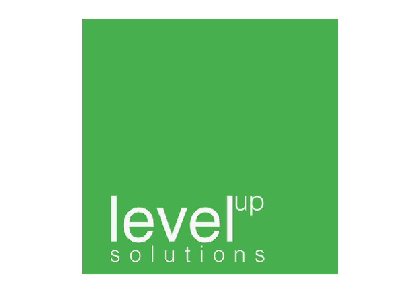 Level up solutions logo