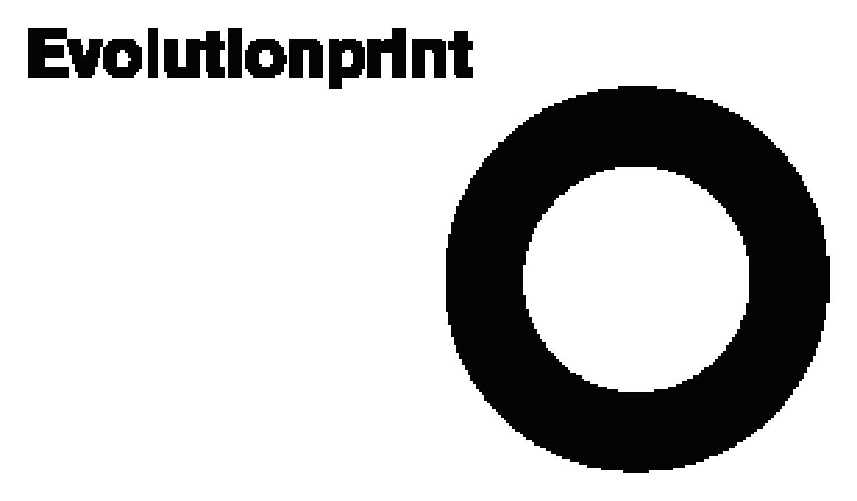 Evolution print logo