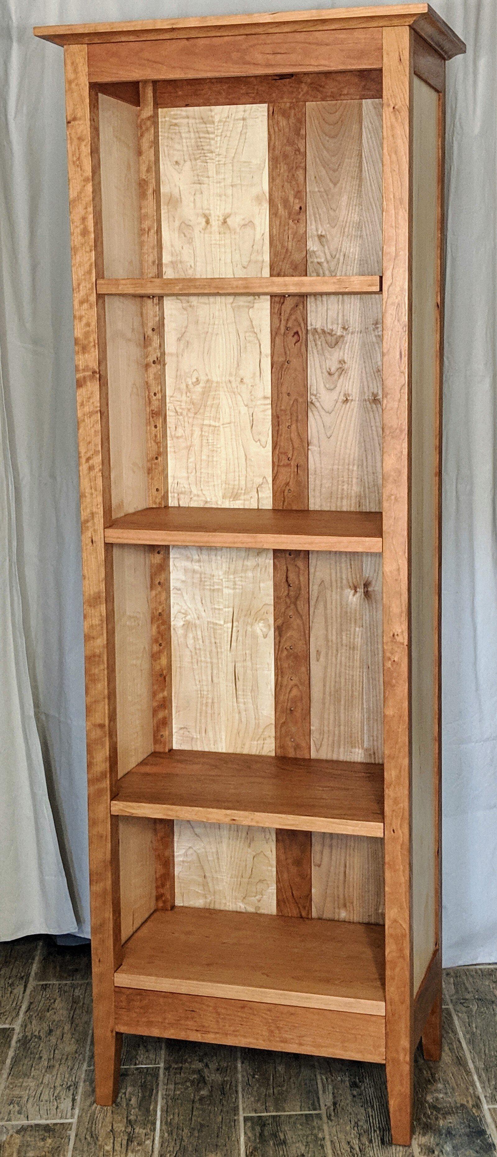 Custom Bookshelf Build Vanvleet Woodworking