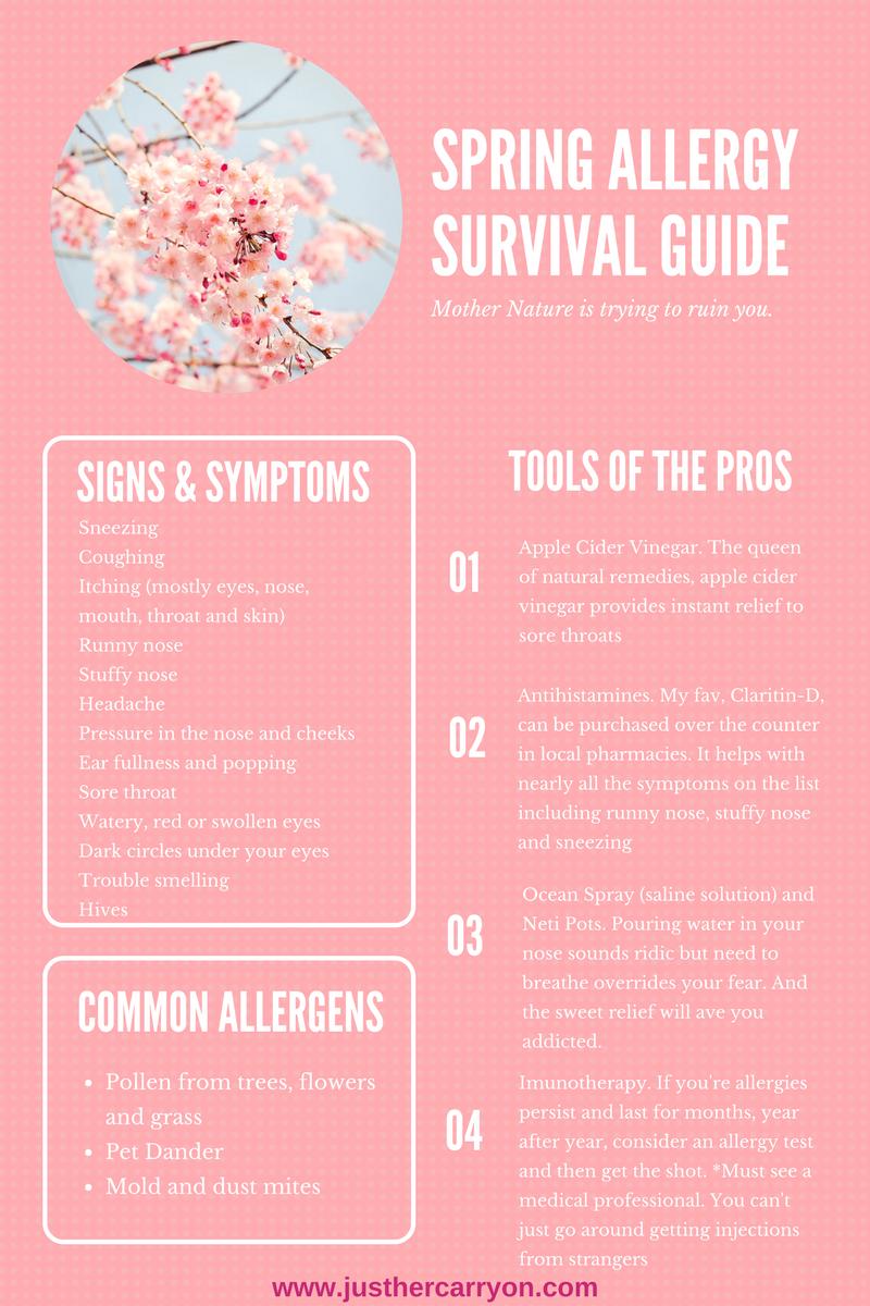 Spring Allergy Survival Guide