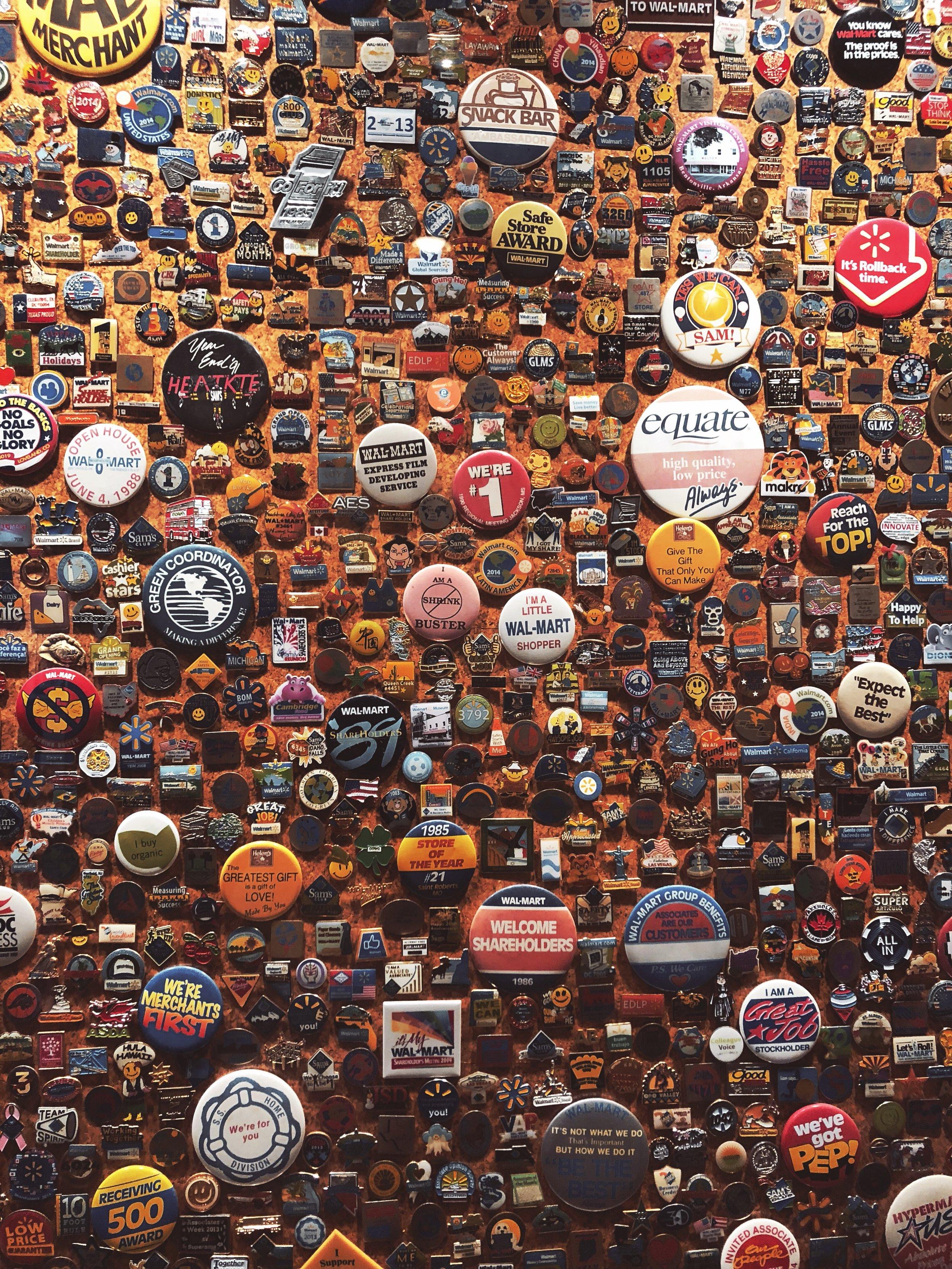 walmart buttons