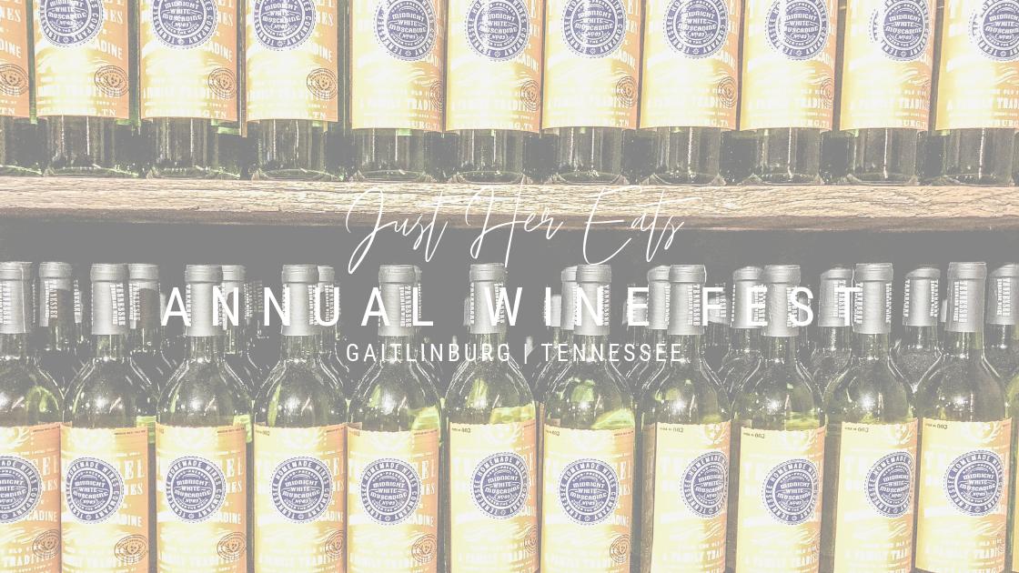 just her eats gaitlinburg wine fest
