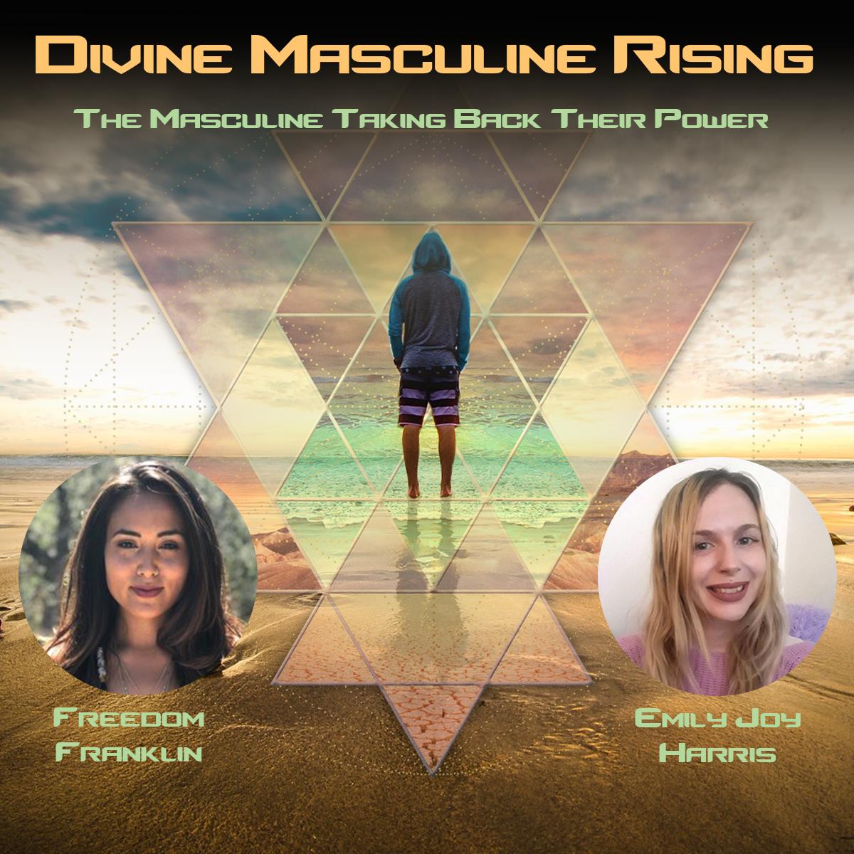 Divine Masculine Rising Webinar ($99) -