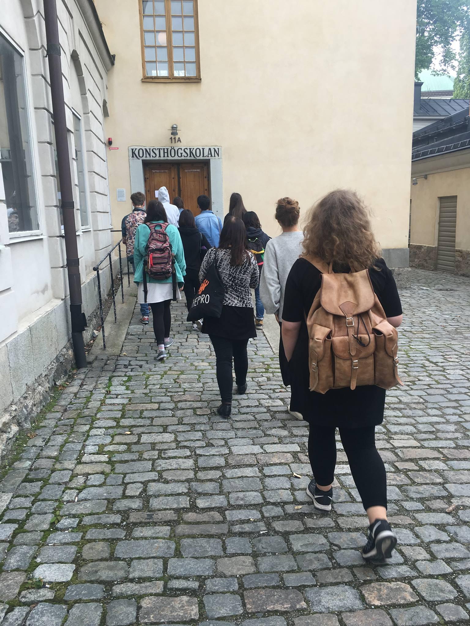 Grafik Hus tour, Aug 2016
