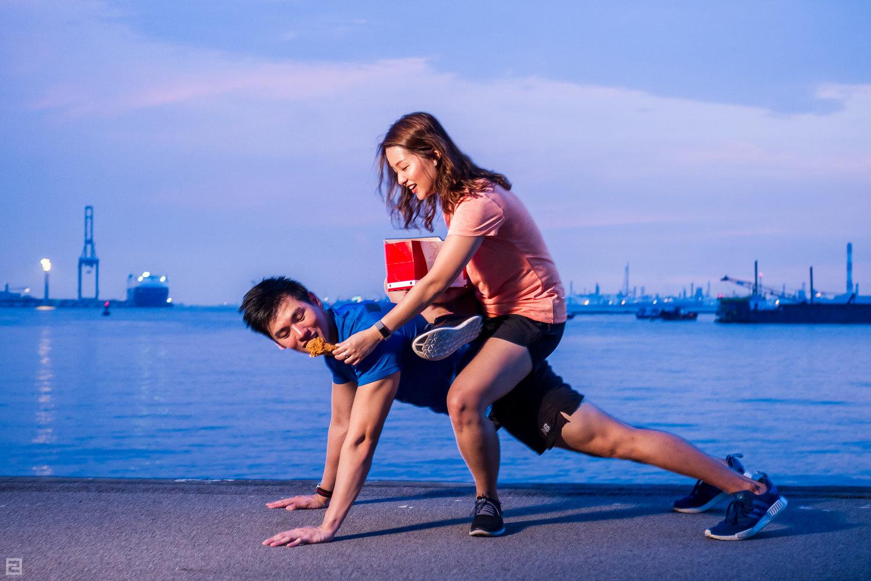 Fitness + Junk food = Fitnessjunkie...right?