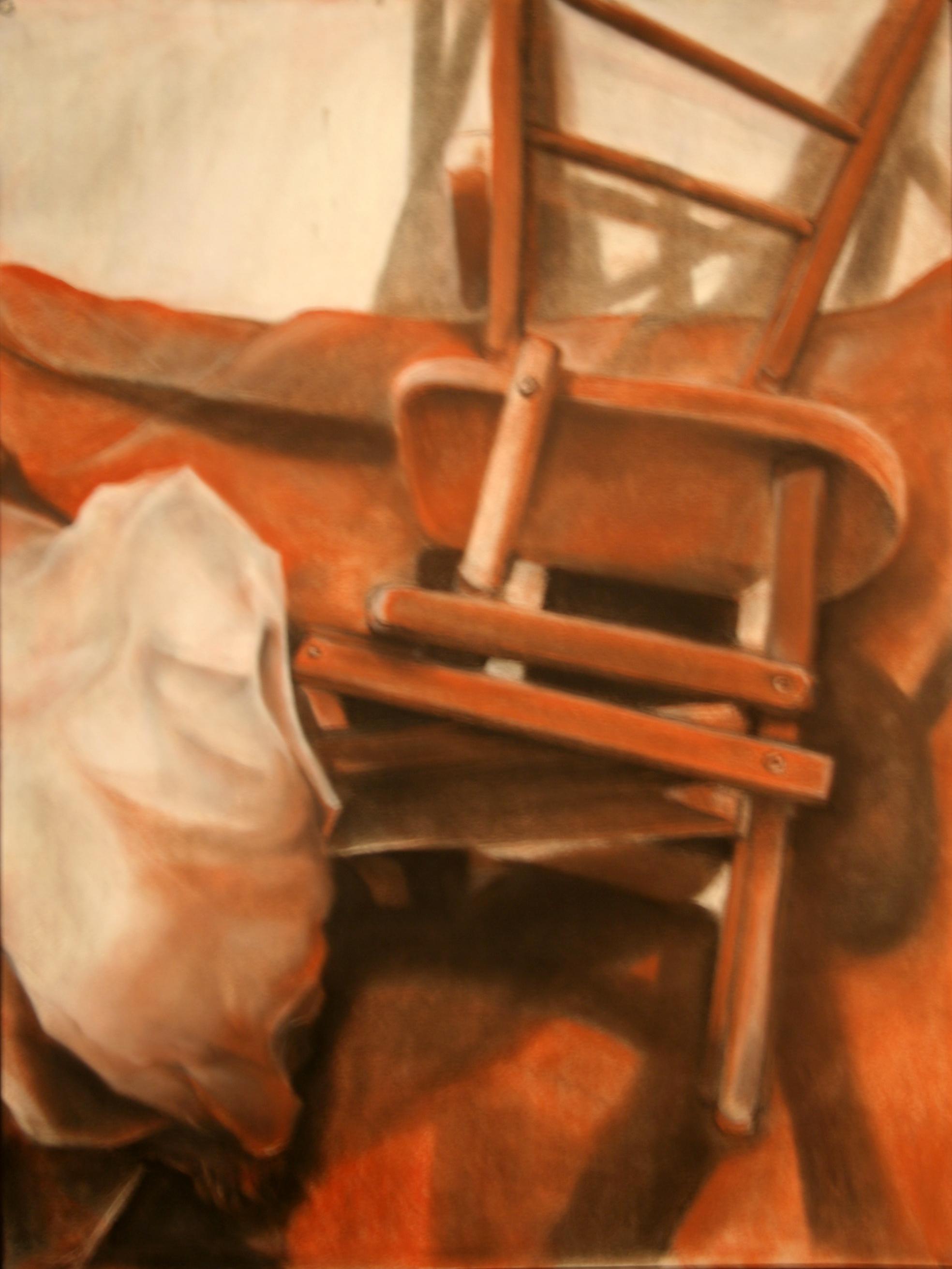 """Drawing II  18x24""""  Conté"""