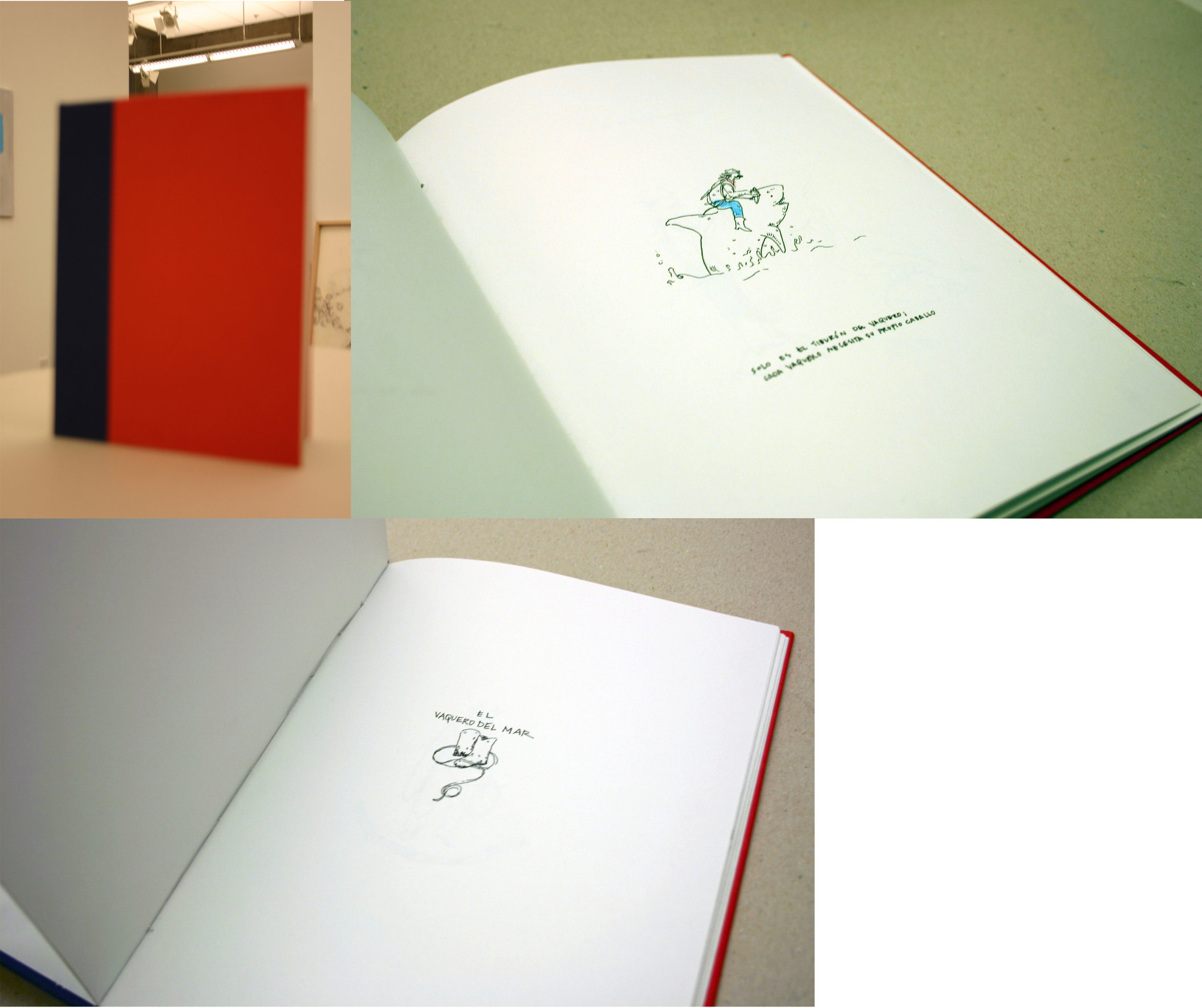 "Drawing II  6x8.5""  Handbound Book"