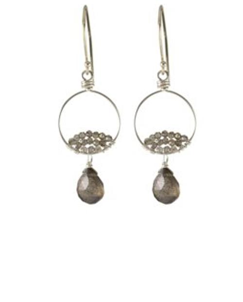 Labadorite Earrings