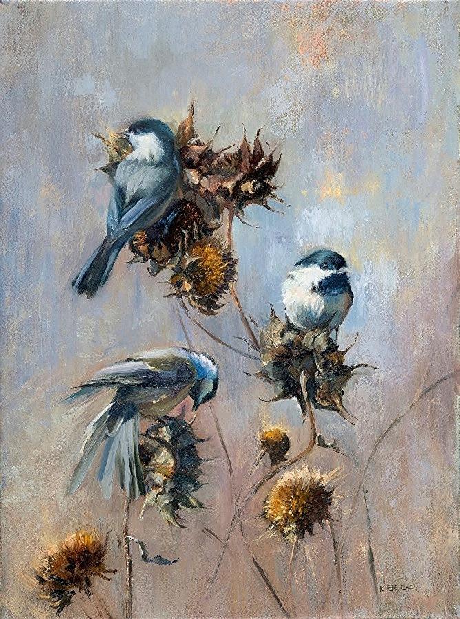Chickadee, Two, Three - SOLD