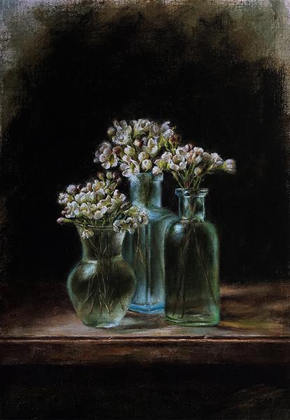 Three Little Vases